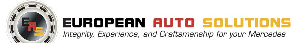 European Auto Solutions  |  Integrity, Experience and Craftsmanship for your Mercedes-Benz